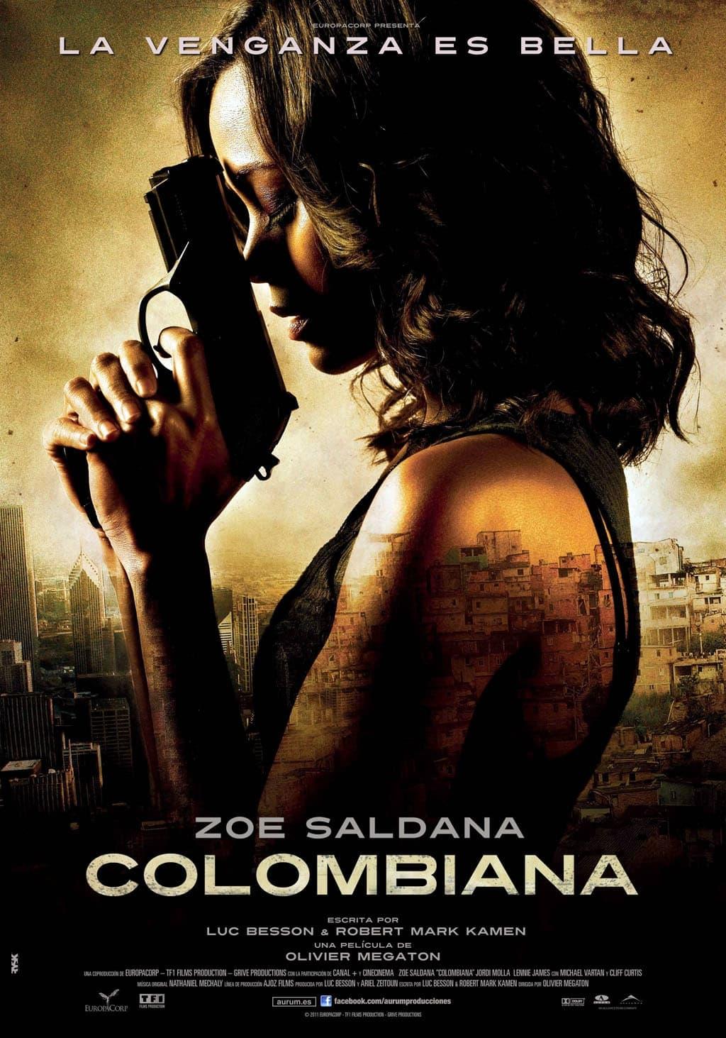 Póster película Colombiana