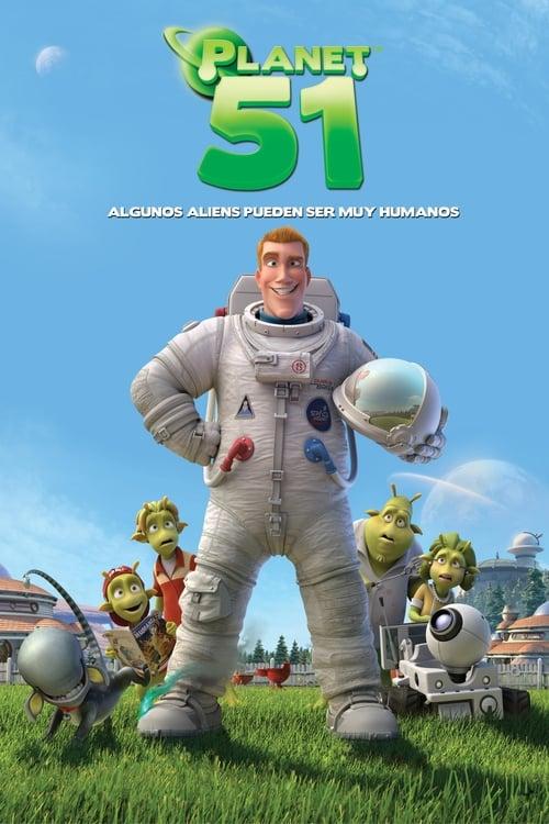 Póster película Planet 51