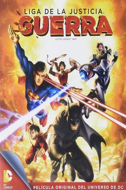 La Liga de la Justicia: Guerra poster