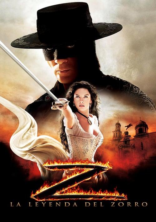 La leyenda del Zorro poster