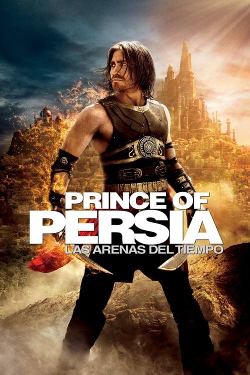 Póster película El príncipe de Persia: Las arenas del tiempo