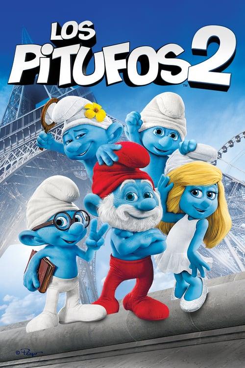 Los pitufos 2 poster