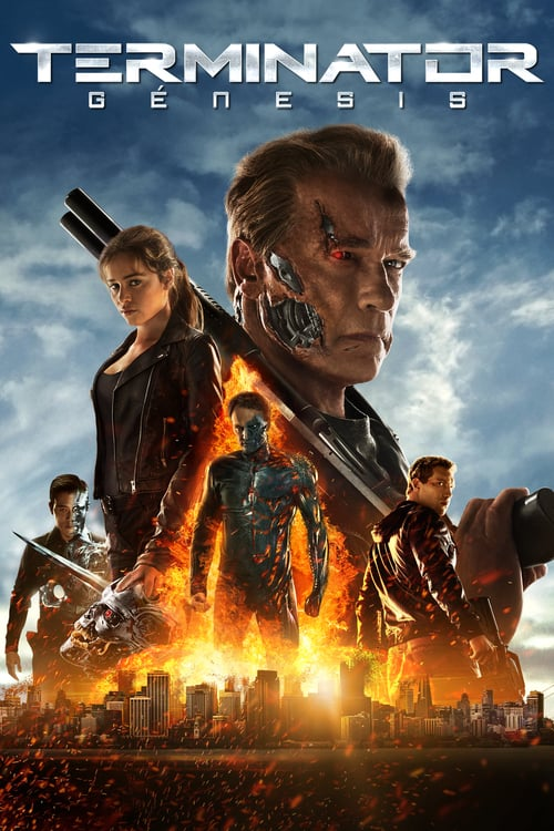 Terminator Génesis poster