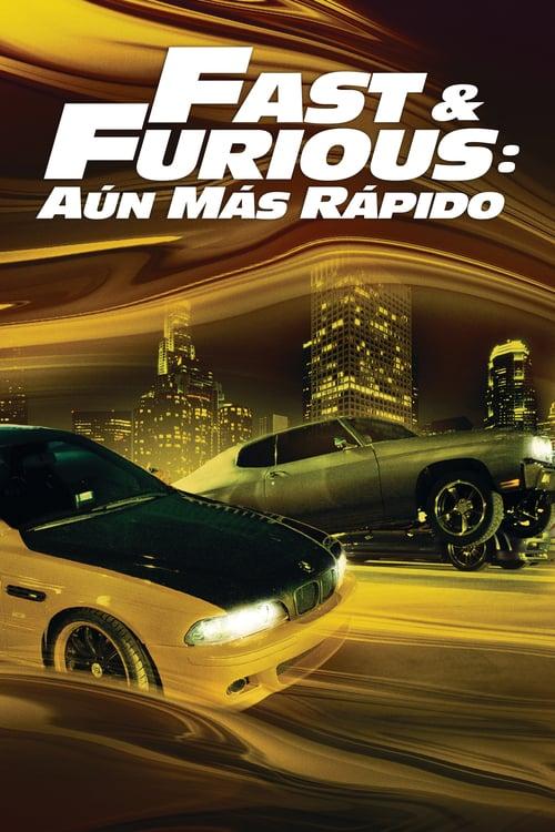 Póster película Fast & Furious: Aún más rápido