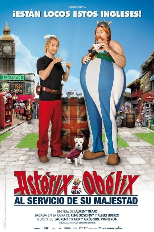 Póster película Astérix y Obélix: Al servicio de su majestad