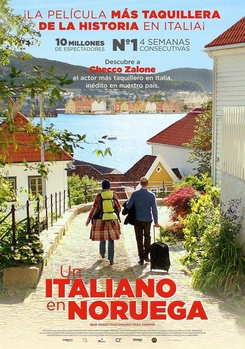 Un italiano en Noruega poster