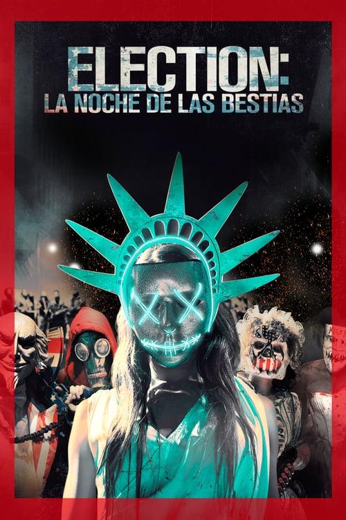 Póster película Election: La noche de las bestias