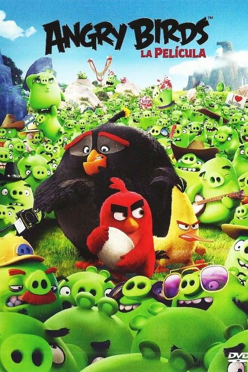 Póster película Angry Birds: La película