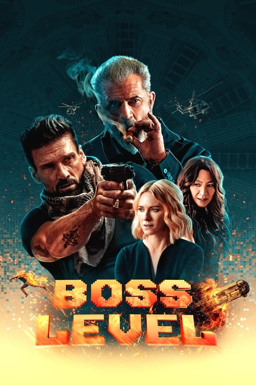 Póster película Boss Level