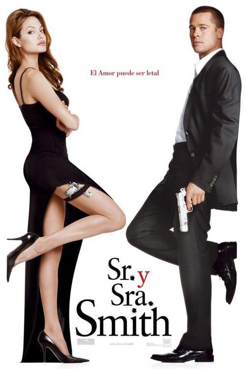 Póster película Sr. y Sra. Smith