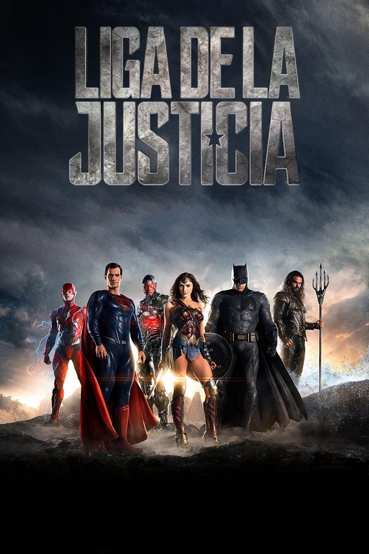 Póster película Liga de la Justicia