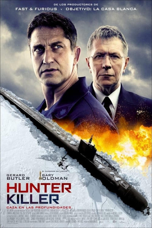 Póster película Hunter Killer: Caza en las profundidades