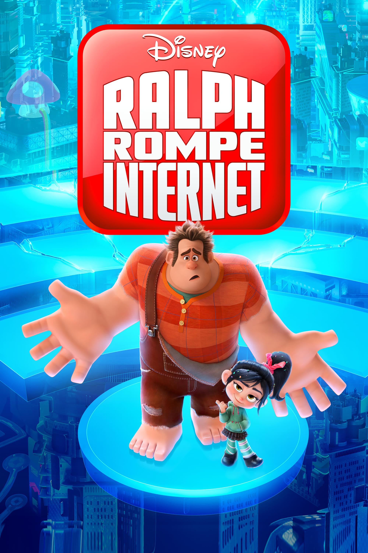 Póster película Ralph rompe Internet