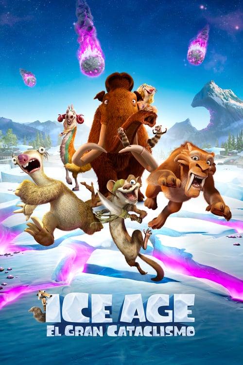 Ice Age: El gran cataclismo poster