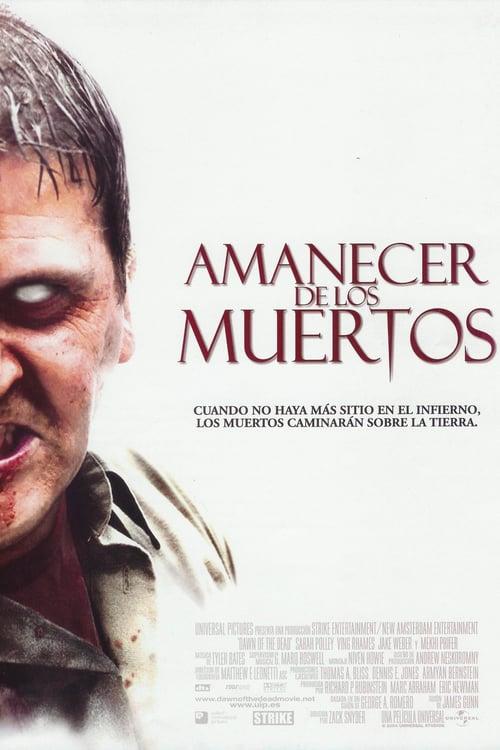 Póster película Amanecer de los muertos