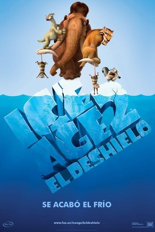Póster película Ice Age 2: El deshielo