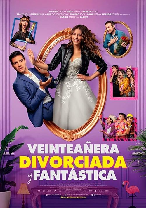 Veinteañera, divorciada y fantástica poster