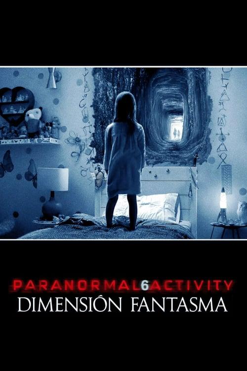 Póster película Paranormal Activity: Dimensión fantasma