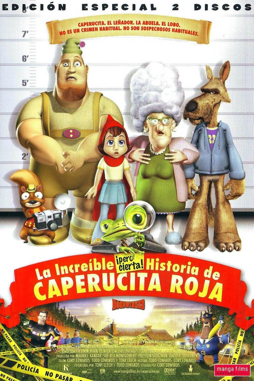 La increíble pero cierta historia de Caperucita Roja poster