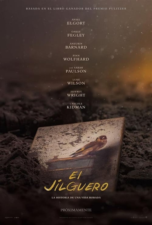 El jilguero poster