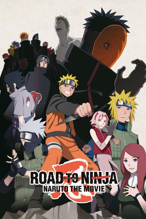 Road to Ninja: Naruto la Película poster