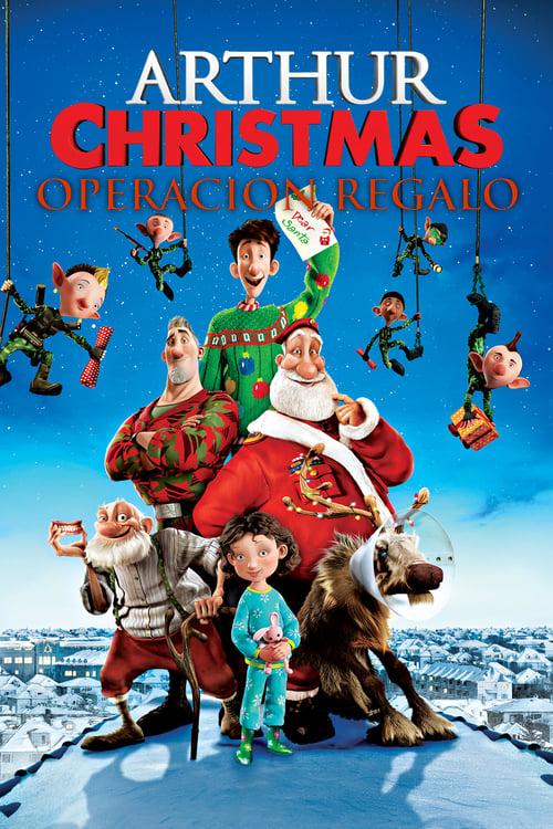 Arthur Christmas: Operación regalo poster