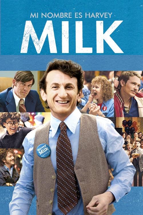 Póster película Mi nombre es Harvey Milk