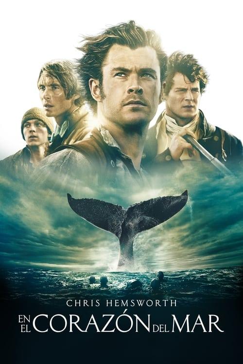 En el corazón del mar poster