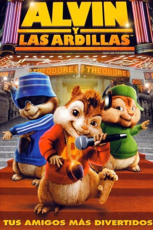 Póster película Alvin y las ardillas