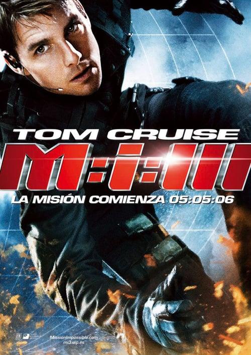 Misión imposible 3 poster