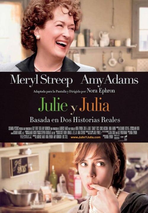 Póster película Julie y Julia