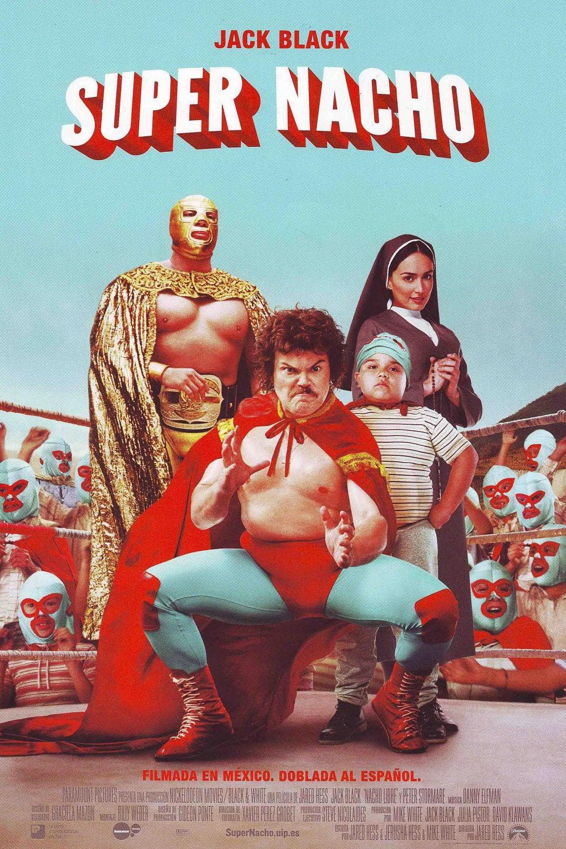 Póster película Super Nacho
