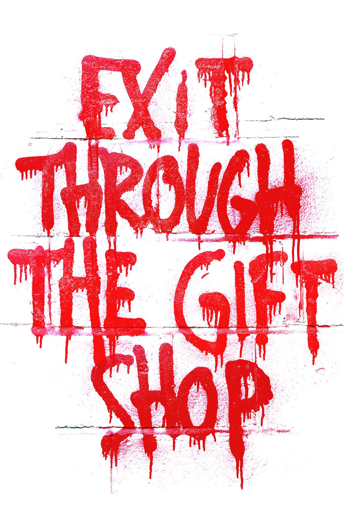 Póster película Exit Through the Gift Shop