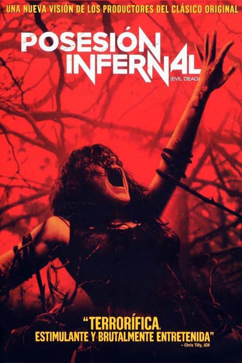 Póster película Posesión infernal (Evil Dead)