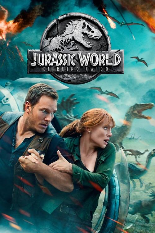 Póster película Jurassic World: El reino caído