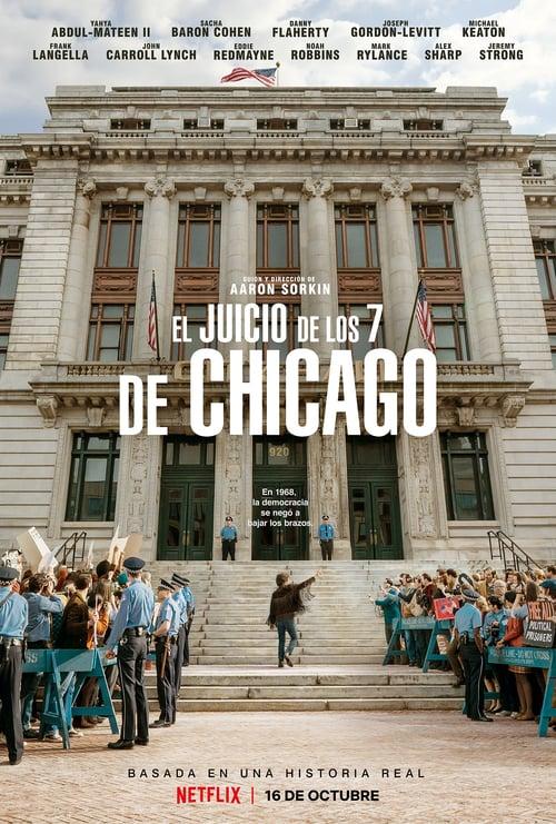 El juicio de los 7 de Chicago poster