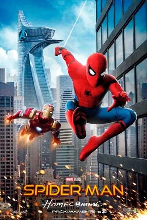 Póster película Spider-Man: Homecoming