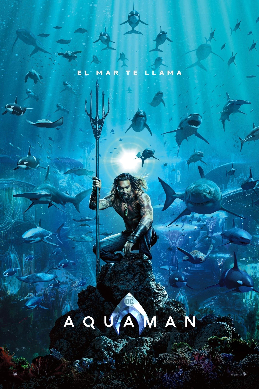 Póster película Aquaman