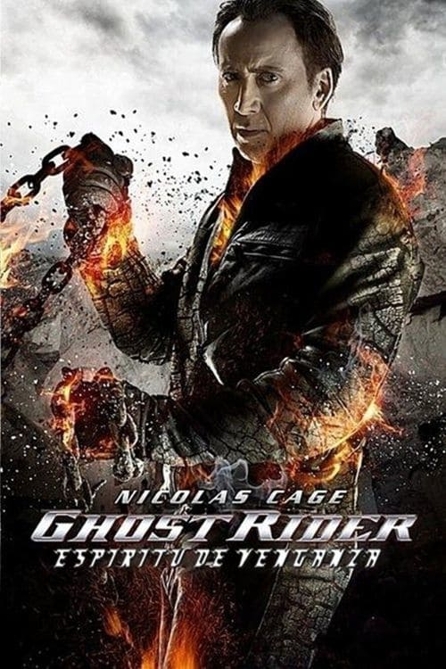 Ghost Rider: Espíritu de venganza poster