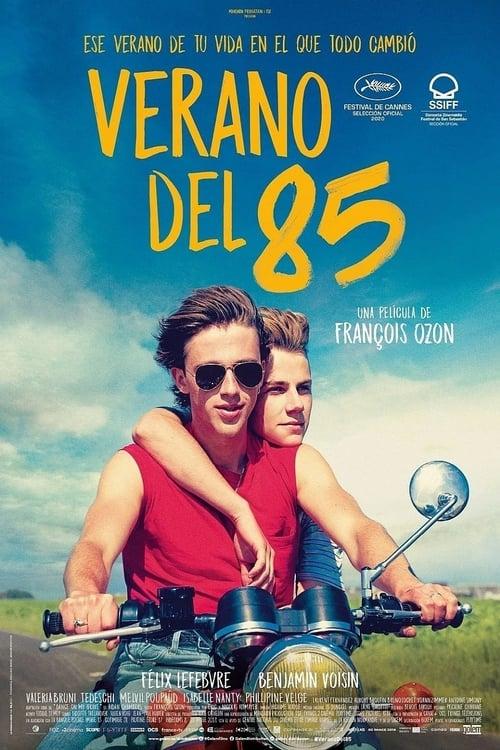 Verano del 85 poster