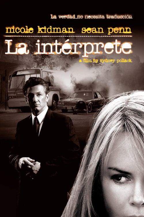 Póster película La intérprete