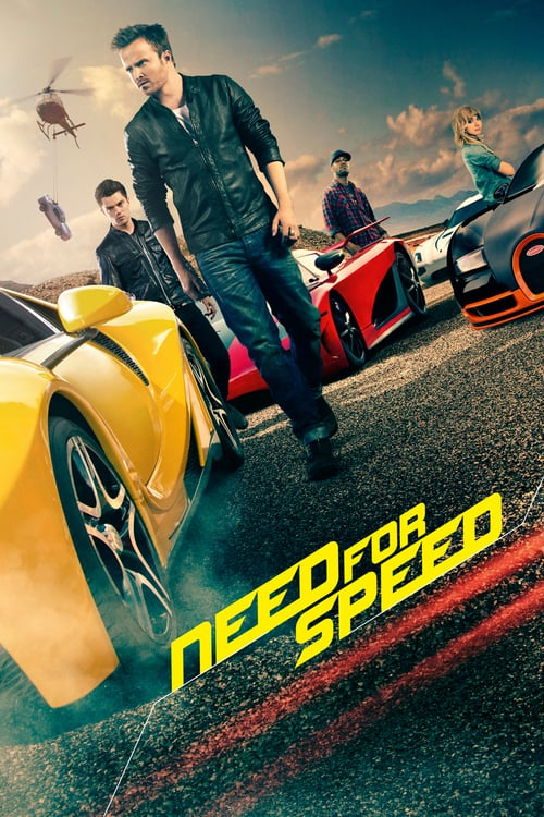 Póster película Need for Speed