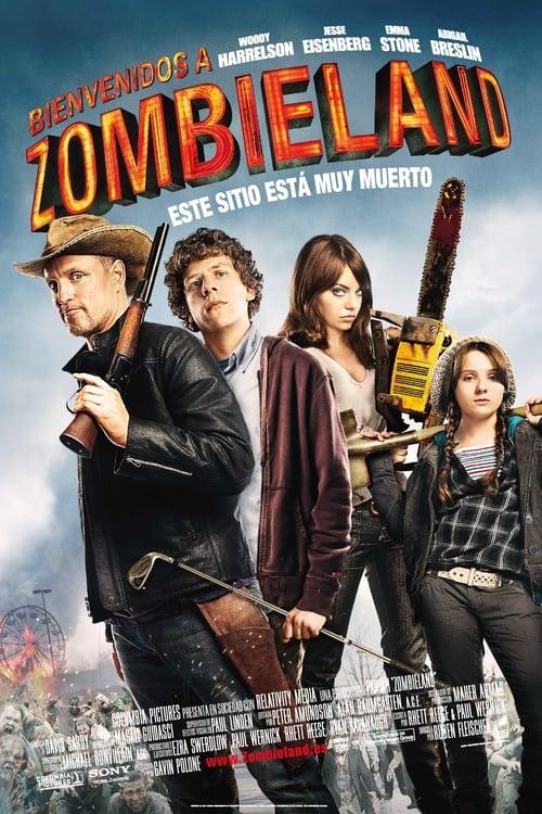 Póster película Bienvenidos a Zombieland