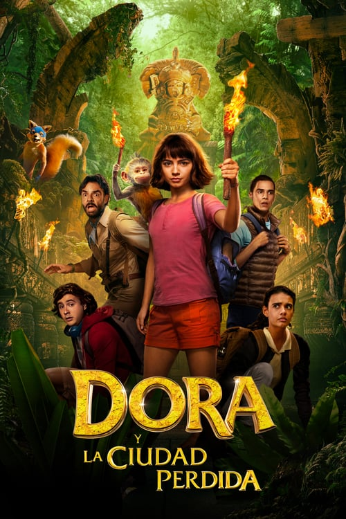 Dora y la ciudad perdida poster