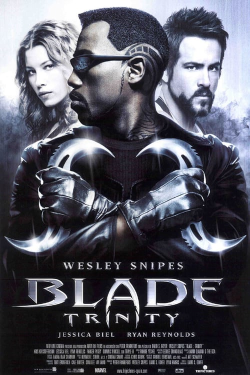 Póster película Blade Trinity