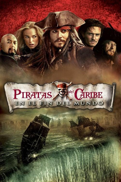 Póster película Piratas del Caribe: En el fin del mundo