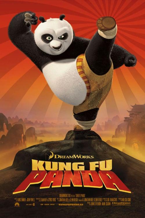 Póster película Kung Fu Panda