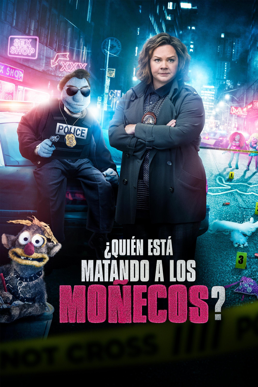 Póster película ¿Quién está matando a los moñecos?