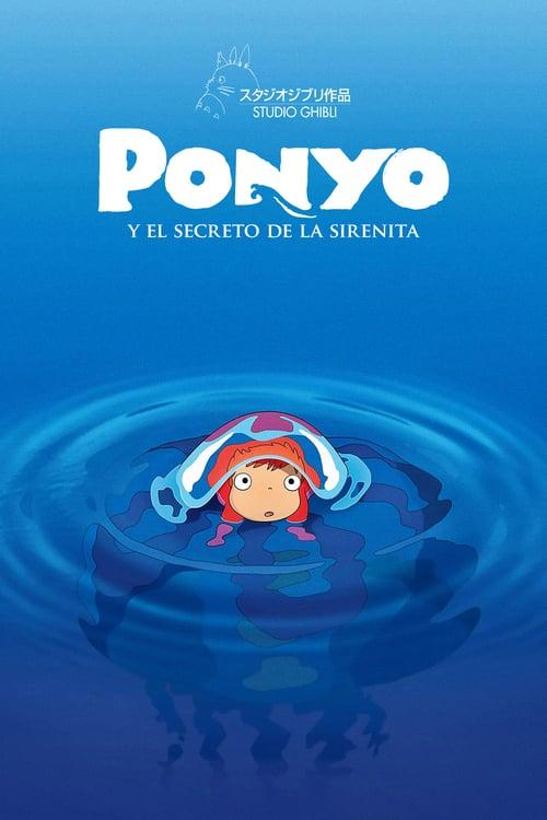 Póster película Ponyo en el acantilado