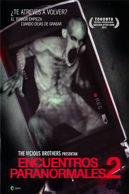 Póster película Encuentros paranormales 2